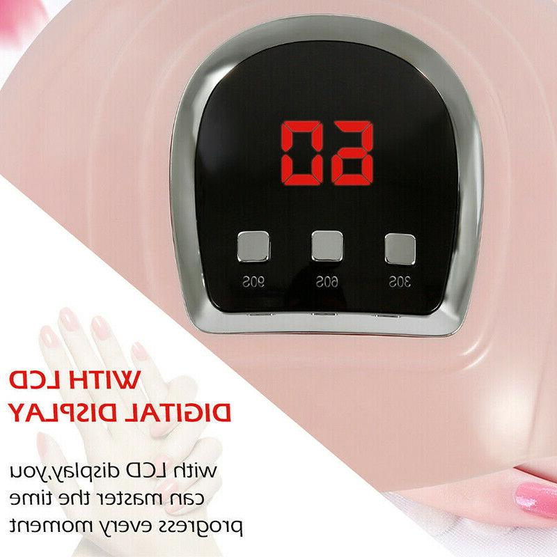 54W LED Nail Polish Acrylic Light Professional
