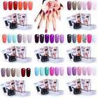FairyGlo 6 Colors Kits Gel Nail Polish Soak Off UV LED Manic