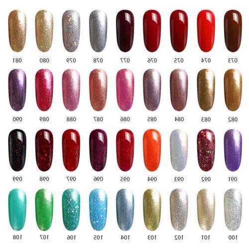 MEFA Set Gel Nail Polish Soak Off Color Manicure
