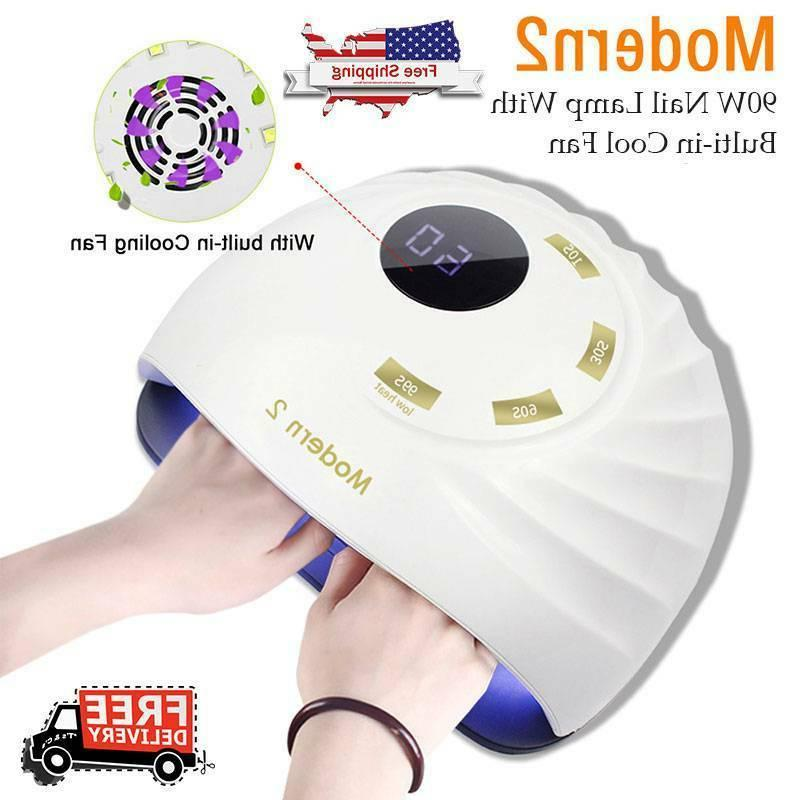 90w led uv nail polish dryer lamp