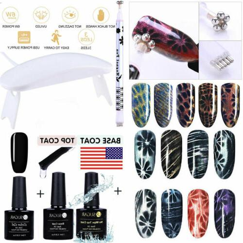 BORN PRETTY LED Gel Nail Top Coat Coat Wipe Prep Finish