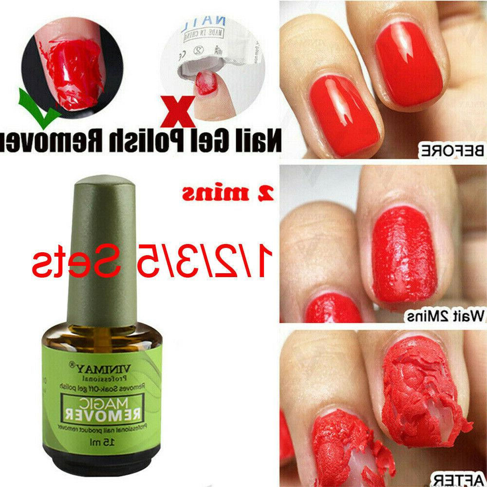 Magic Nail Polish Remover Professional Remove Soak-Off Gel P
