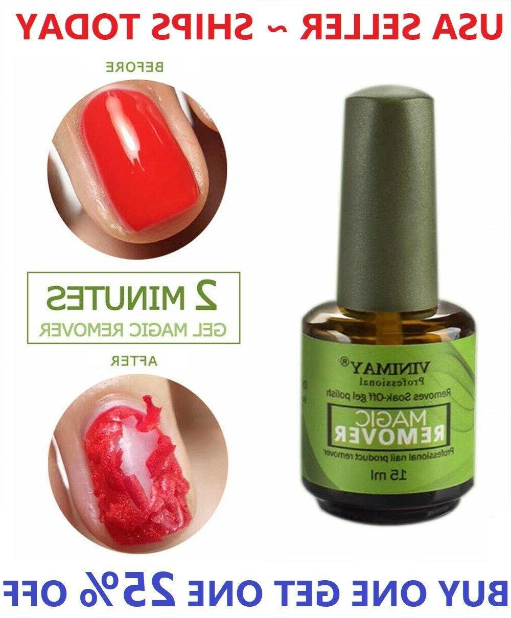 burst nail gel magic remover polish soak