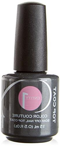 Entity 1 One Color Couture Soak Off Gel Polish Top Coat 0.5