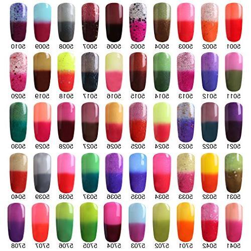FairyGlo Color Nail Polish UV Chameleon Magic Nail Art Soak 8ML
