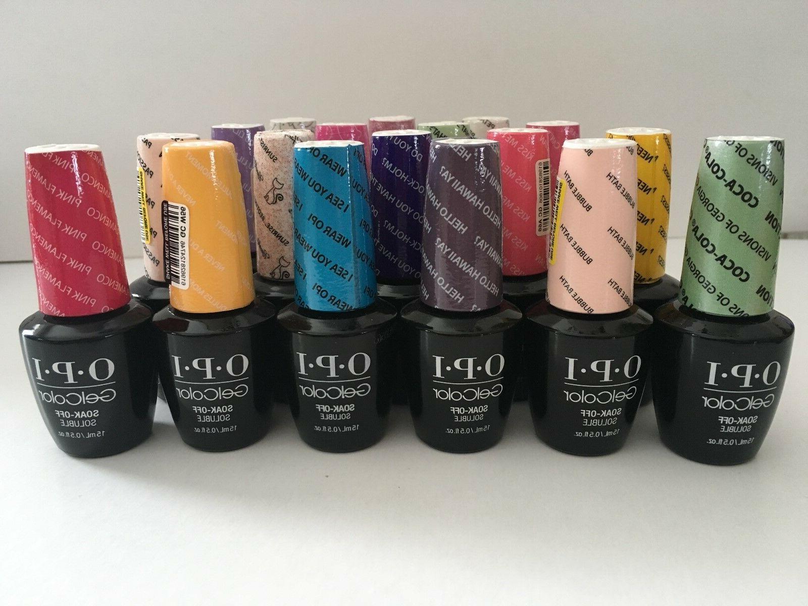gel color soak off nail polish many