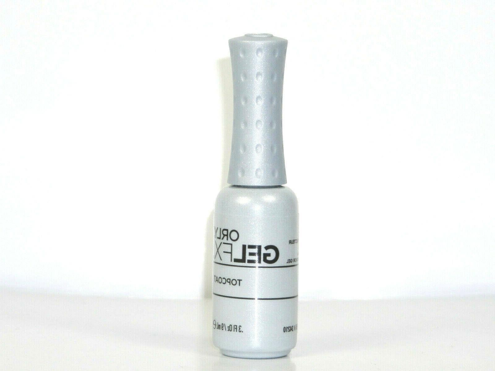Orly Gel 34110 34210 Top Coat UV Nail Soak Off .3oz