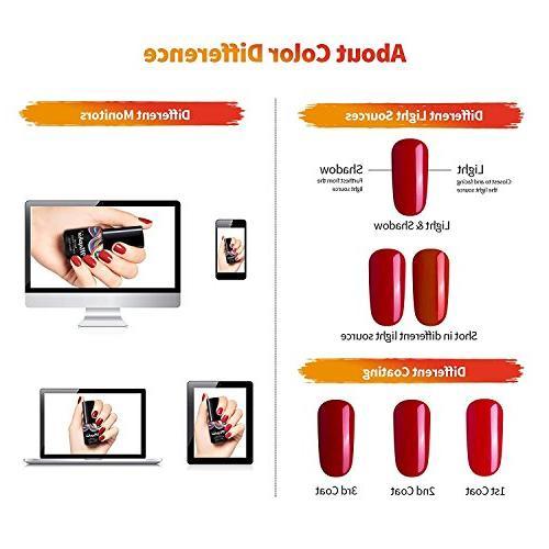 Maphie Polish Sets Glitter UV Off Gel Varnish Manicure FREE SET 6ml
