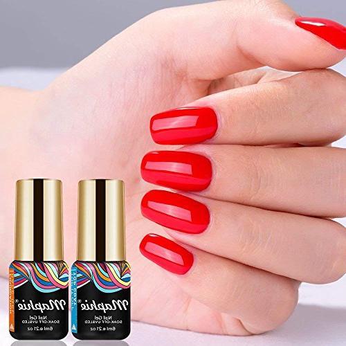 Maphie Gel Nail Sets 6 UV LED Soak Gel FREE SET