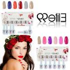 Elite99 Gel Nail Polish Set Soak Off Manicure No Wipe Top Co