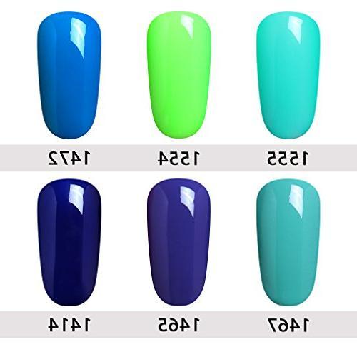 Elite99 Nail Soak Gel Lacquer UV Nail Art of