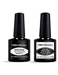 Lagunamoon Gel Nail Polish Soak Off UV LED Gel Base Coat and