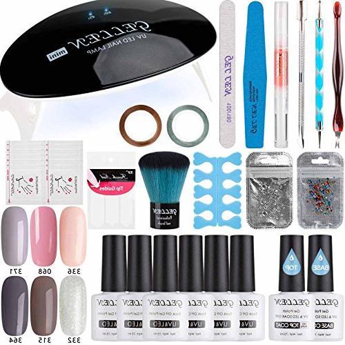 gel nail polish starter kit