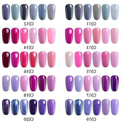 Elite99 Polish UV LED Soak Manicure Colors Set Starter