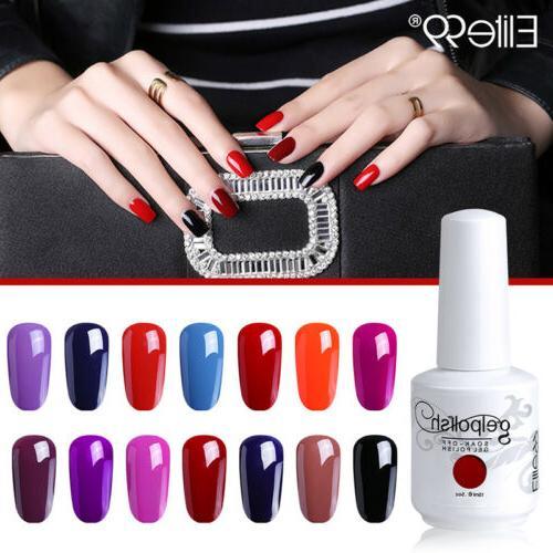 gel polish color varnish nail art soak