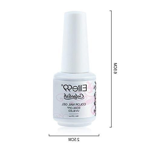 Elite99 Gel LED Nail Pink 8ml