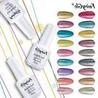 FairyGlo Glitter Gel Nail Polish Soak off UV LED Platinum Ma