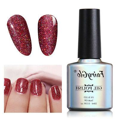 FairyGlo LED Diamond Gel Polish Lacquer
