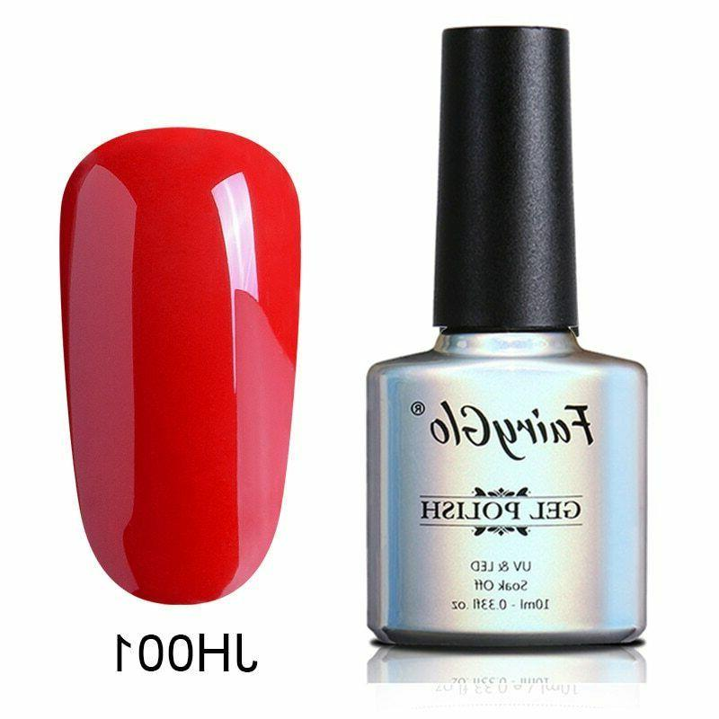 FairyGlo® Gel Polish Semi Permanent Top Base Coat