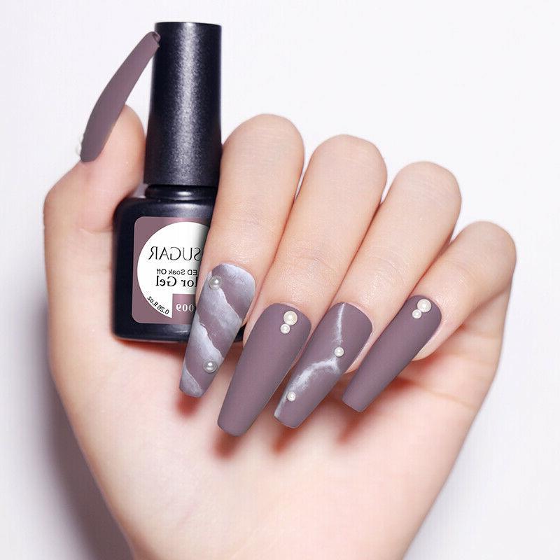 10 Set UR SUGAR Gel Nail Polish Glitter with Top