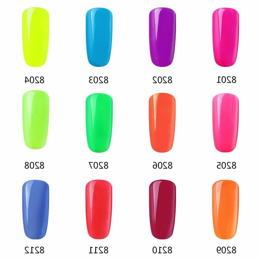 FairyGlo® Neon Gel Luminous Glow Fluorescent