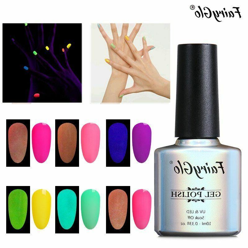 neon gel 10ml luminous nail gel polish