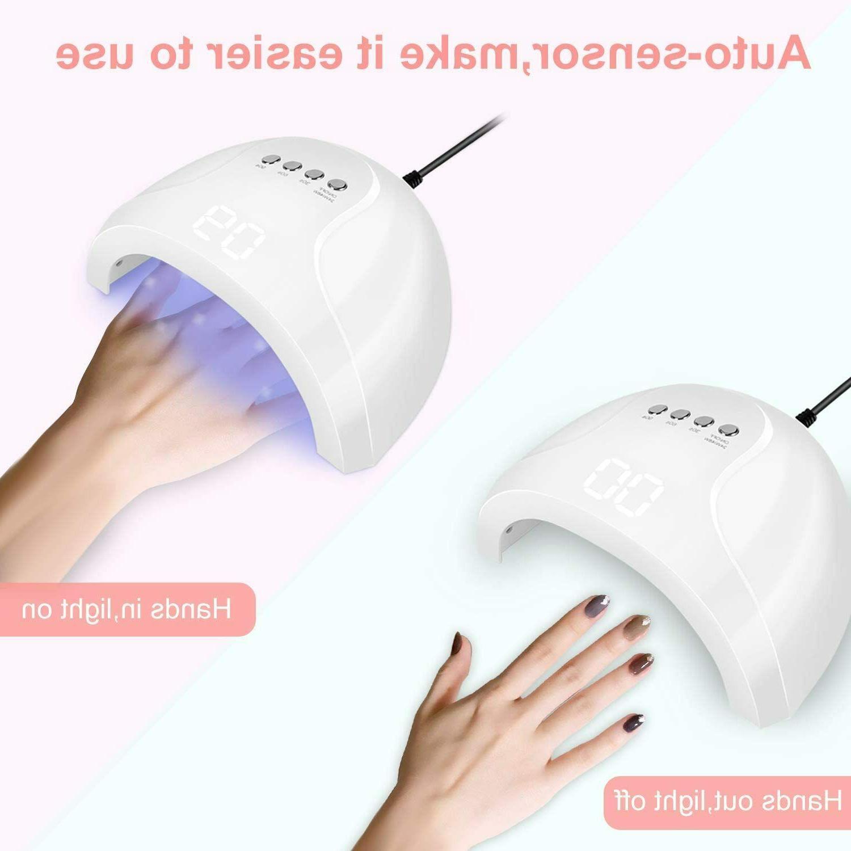 Curing Nail Timer Sensor
