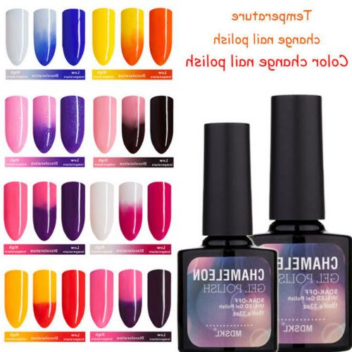 New BELLE FILLE Chameleon Temperature Color Change Nail Gel