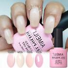 AIMEILI Nude Pink Candy Soft Pink UV LED Soak Off Gel Nail P