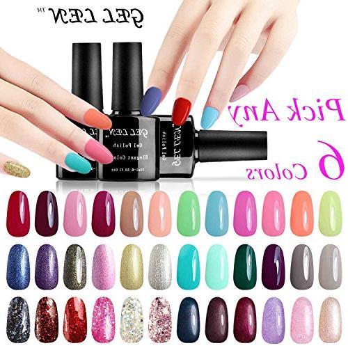 pick any soak gel nail