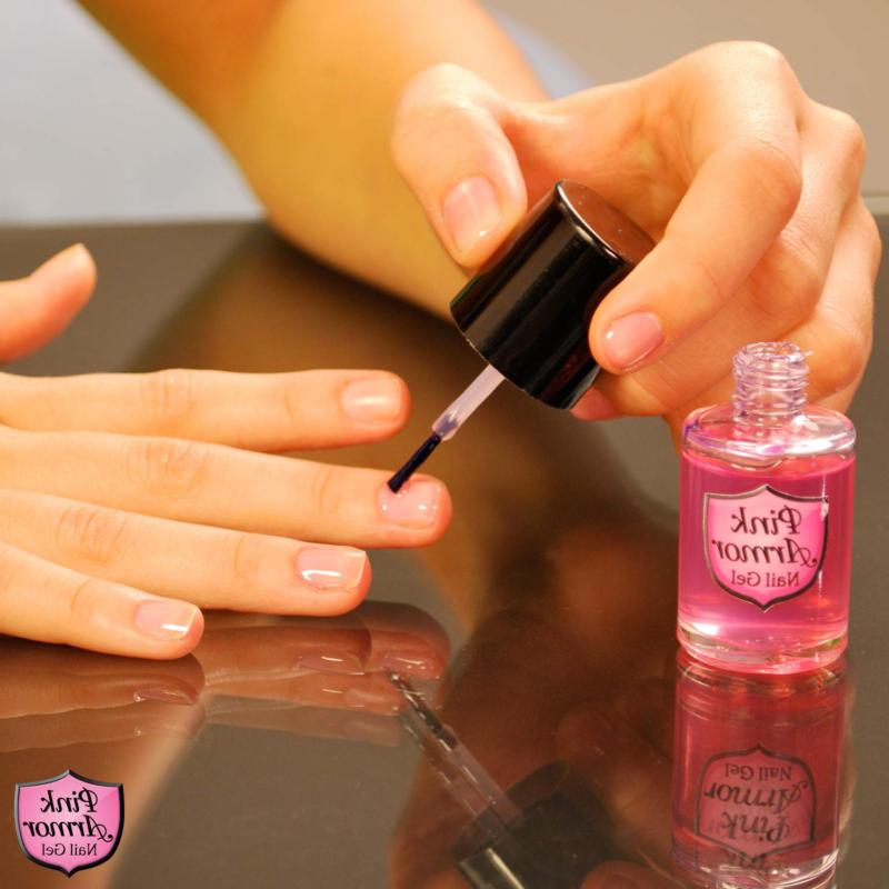 Pink Personal Health Polish for