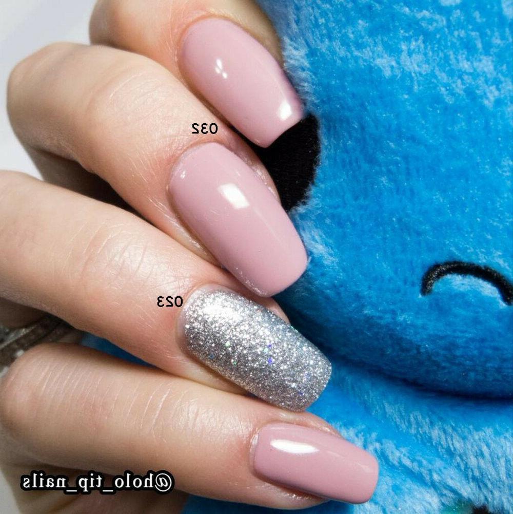 AIMEILI Pink Nail Polish LED Soak Off Pink Bright US