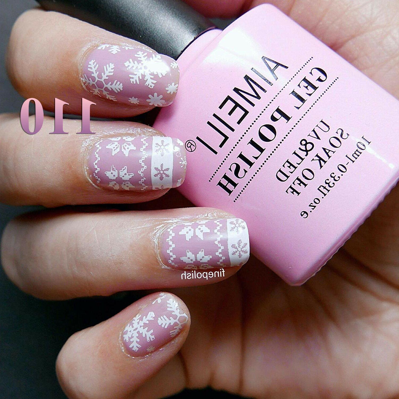 AIMEILI Pink Polish UV Off Bright