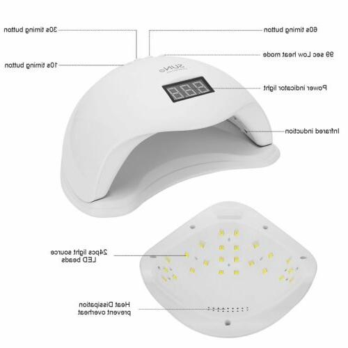 Professional Polish Gel Curing LED Nail Dryer Lamp Machine