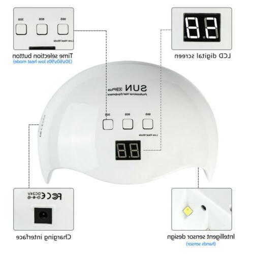 Professional LED Nail Dryer Polish Lamp Salon Manicure 48w