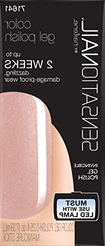 Sensationail Color Gel Polish La Creme 71641 0.25 Fl. Oz.