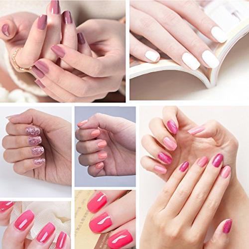 Perfect Summer Gel Nail Polish - UV LED Nail Pack of 8ML