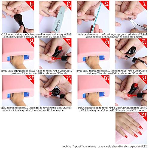 Perfect Soak Gel UV LED Nail Pack of 8ML #005