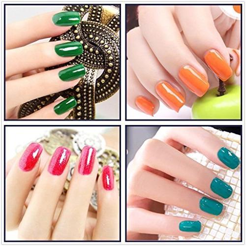 Elite99 Pick 5 Colors Soak Gel Color Nail Art Set 241