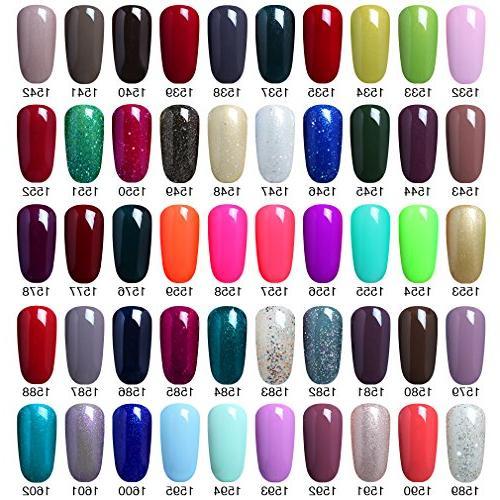 Elite99 Pick Colors Nail UV Color Nail Art Set