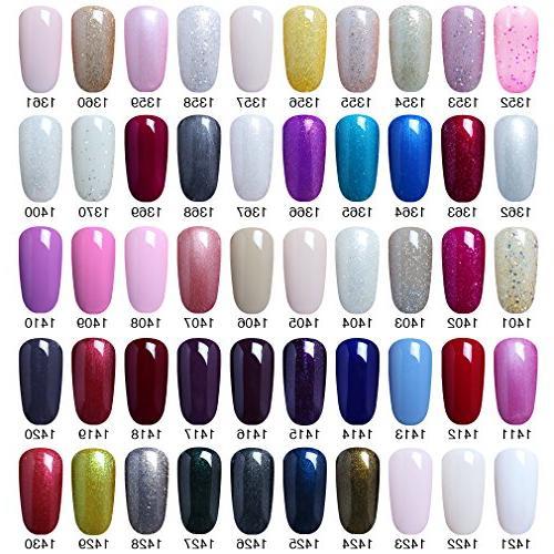 Elite99 5 Colors Soak Nail Color Nail Gift Set Available