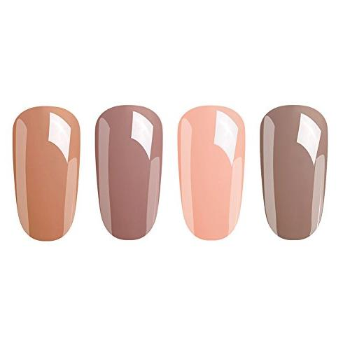 Elite99 Soak Off Nail Kit Color Series Set Remover Wraps
