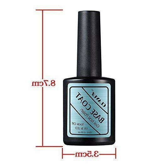 CLAVUZ Soak Off Coat UV Nail Art
