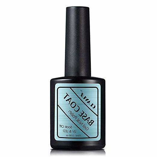 soak off base coat gel nail polish