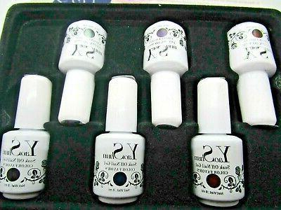 soak off gel fingernail polish 6 bottles