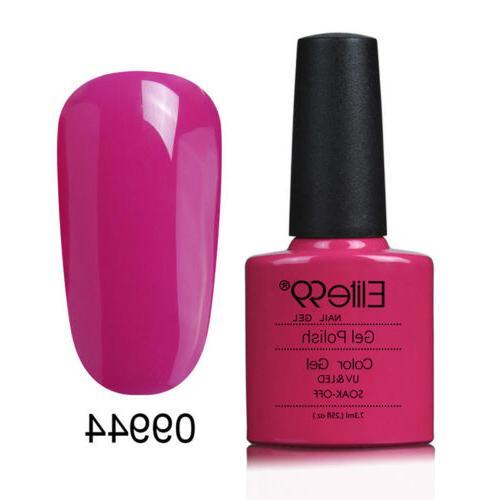 Elite99 Soak Nail Polish UV LED Varnish Lacquer Top