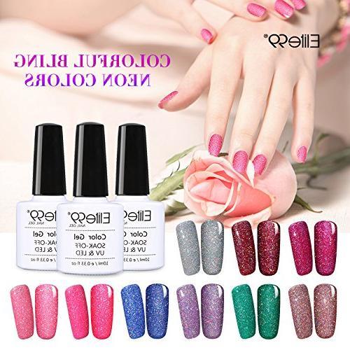 Elite99 Soak UV Neon Manicure Pedicure 10ML