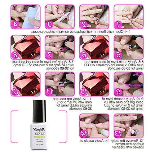 FairyGlo Color Changing Chameleon Nail Soak 8ML 5023