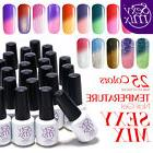 Sexy Mix Temperature Changing Nail Gel Polish UV LED Soak Of