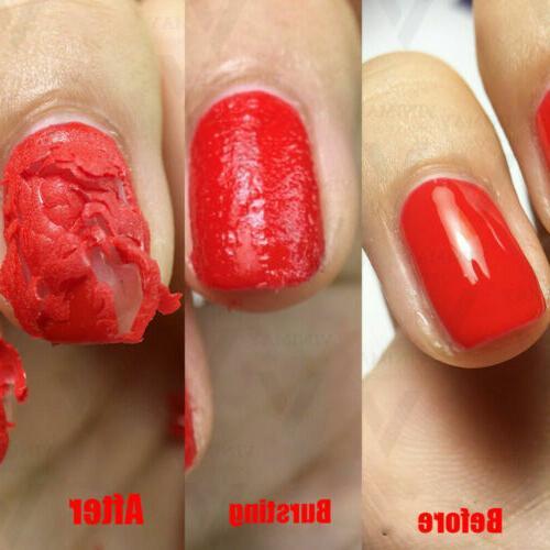 US Nail Remover Polish Soak Gel Top Degreaser 15ml